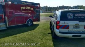 Solomons PA38 with injured child from a fall