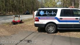 Motorcyclist injured after crash