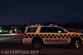 CMD10 @ the LZ in Prince Frederick after the ATV accident.