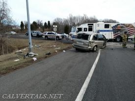 M104 and the vehicle with the trapped occupant.