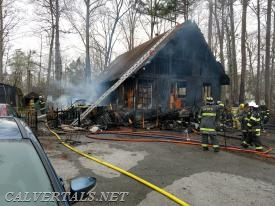 Aftermath of C.R.E house fire this afternoon.