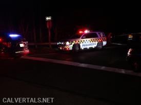 2nd Medic unit on scene of the crash on Rt-4