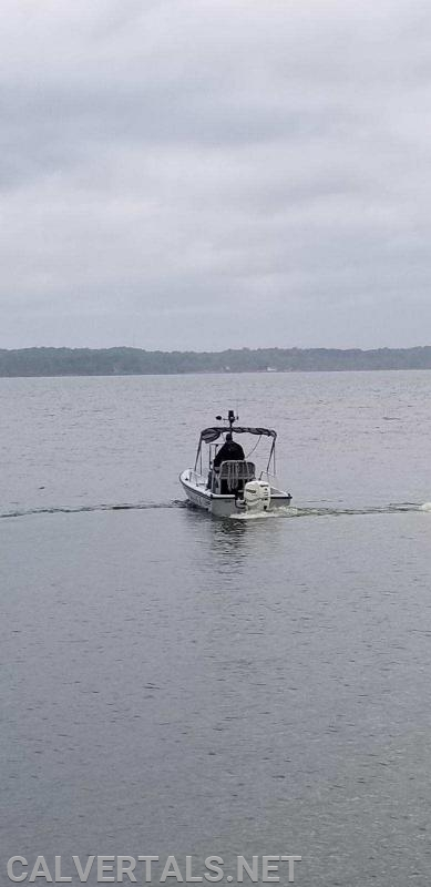 NRP police boat during the search.