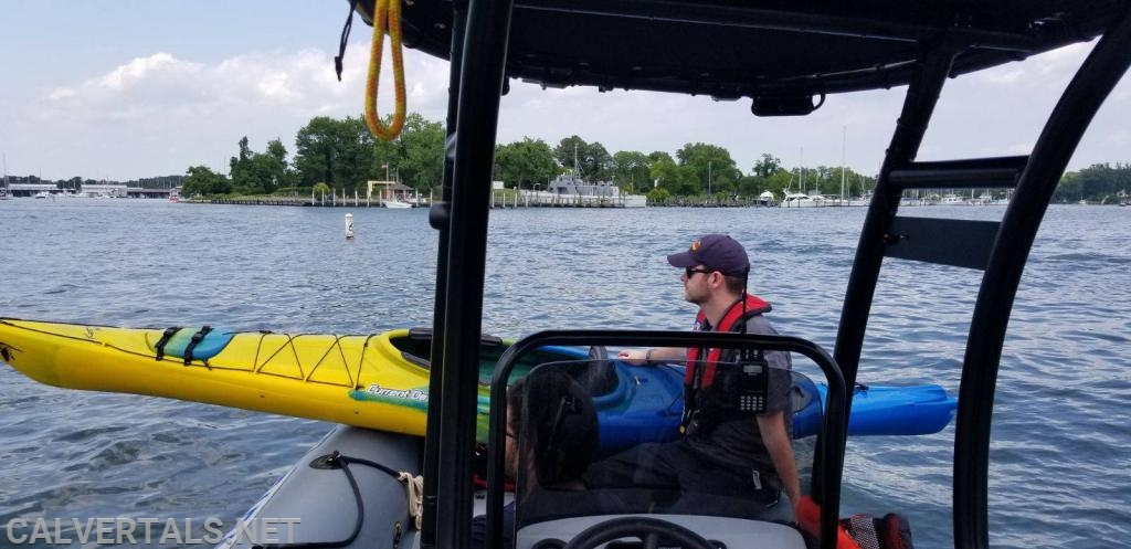 Day 2 brought a second assist when a kyaker with no life jacket fell out of his boat and was separated from the boat.  The kayaker was removed from the water and his kayak was recovered as well and taken back to a pier.