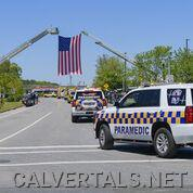 CALS units in the procession.
