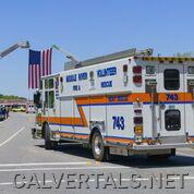 Middle River Heavy Rescue 743 in the procession.   Marcus was also a member of this department over the years.