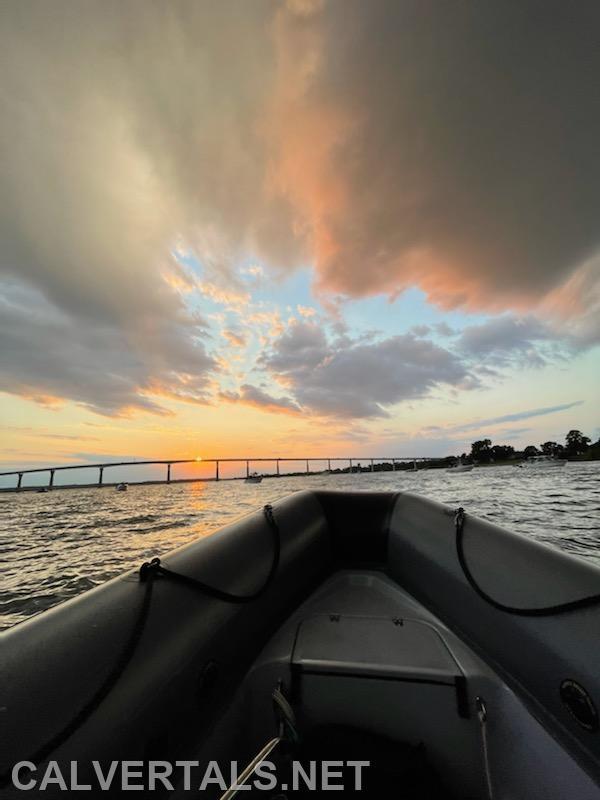 TJ Bridge seen from Boat 10